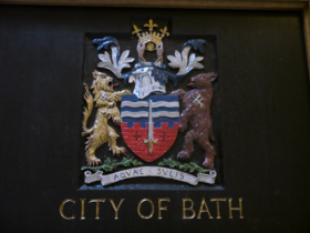 City of Bath's Coat of Arms