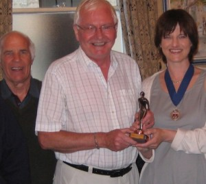 The trophy, given by the Charter Trustees of the City of Bath, was presented by deputy mayor Councillor Lisa Brett.