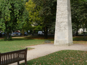The Obelisk in Queens Square