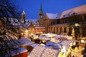 Braunschweig Christmas Market in the Domplatz